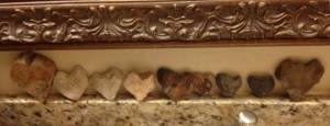 Rocks from my husband